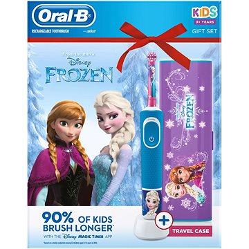 Oral-B Vitality Frozen + cestovní pouzdo (4210201307655)