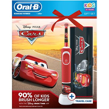 Oral-B Vitality Cars + cestovní pouzdro (4210201307679)