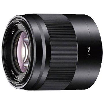 Sony 50mm F1.8 černý (SEL50F18B.AE) + ZDARMA Štětec na optiku Hama Lenspen