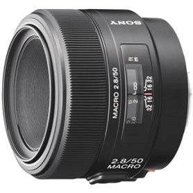 SONY 50mm F2.8 makro (SAL50M28.AE)