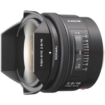 SONY 16mm f/2.8 Fish eye (SAL16F28.AE)