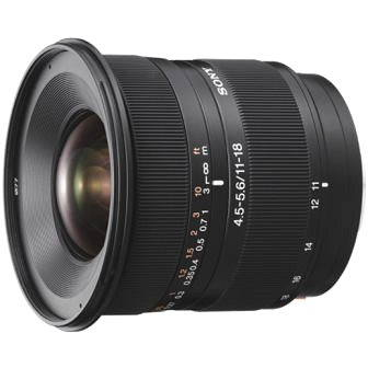 SONY 11-18mm F4.5-5.6 DT (SAL1118.AE)