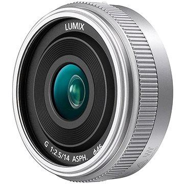 Panasonic Lumix G 14mm f/2.5 stříbrný (H-H014AE-S)