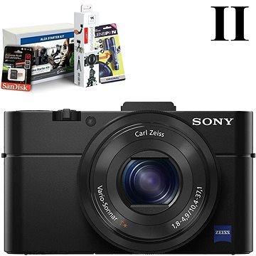 SONY DSC-RX100 II + Alza Foto Video Starter Kit 2019