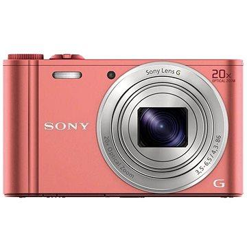Sony CyberShot DSC-WX350 růžový (DSCWX350P.CE3) + ZDARMA Paměťová karta Sony SDHC 32GB Class 10 UHS-I