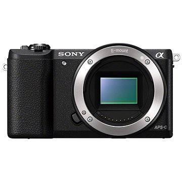 Sony Alpha A5100 černý jen tělo (ILCE5100B.CEC) + ZDARMA Paměťová karta Sony Micro SDHC 16GB Class 10 + SD adaptér