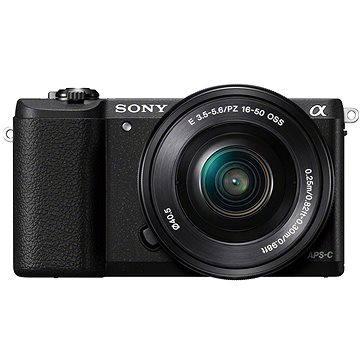 Sony Alpha A5100 černý + objektiv 16-50mm (ILCE5100LB.CEC)