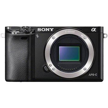 Sony Alpha 6000 černý, tělo (ILCE6000B.CEC) + ZDARMA Paměťová karta Sony Micro SDHC 16GB Class 10 + SD adaptér