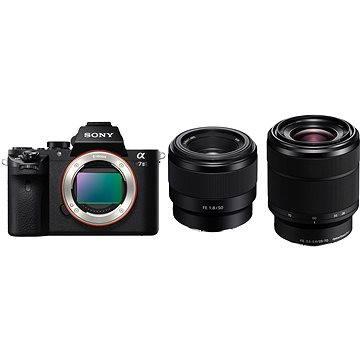 Sony Alpha 7II + objektiv 28–70mm + FE 50mm F1.8