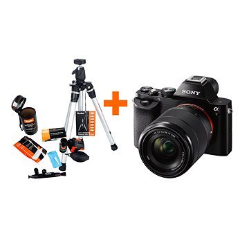Sony Alpha A7 + objektiv 28-70mm + Rollei Starter Kit