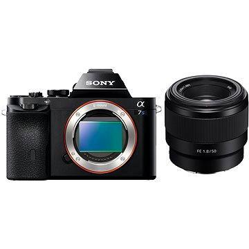 Sony Alpha 7s + objektiv FE 50mm F1.8 + ZDARMA Paměťová karta Sony Micro SDHC 16GB Class 10 + SD adaptér