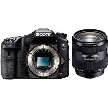SONY Alpha 77M II + objektiv 16-50mm (ILCA77M2Q.CEC) + ZDARMA Paměťová karta Sony Micro SDHC 16GB Class 10 + SD adaptér
