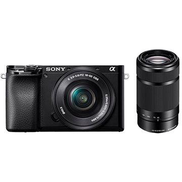 Sony Alpha A6100 černý + 16-50mm f/3.5-5.6 OSS SEL + 55-210mm f/4.5-6.3 SEL (ILCE6100YB.CEC)