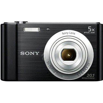 Sony CyberShot DSC-W800 černý (DSCW800B.CE3) + ZDARMA Pouzdro na fotoaparát CONNECT IT CI-209 HardShell černé