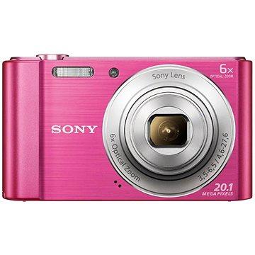 Sony CyberShot DSC-W810 růžový (DSCW810P.CE3) + ZDARMA Pouzdro na fotoaparát CONNECT IT CI-209 HardShell černé