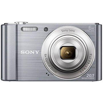 Sony CyberShot DSC-W810 stříbrný (DSCW810S.CE3) + ZDARMA Pouzdro na fotoaparát CONNECT IT CI-209 HardShell černé