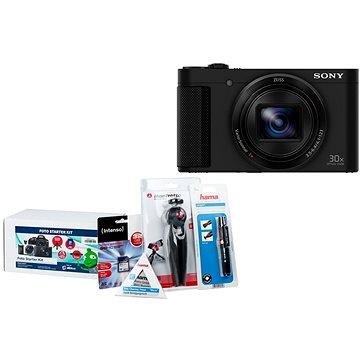Sony CyberShot DSC-HX80 černý + Alza Foto Starter Kit 32GB