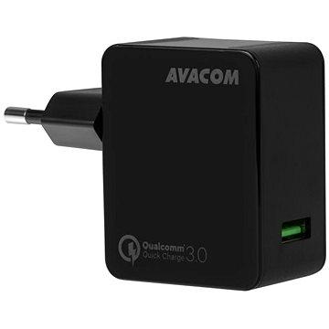 AVACOM HomeMAX síťová nabíječka QC3.0, černá (NASN-QC1X-KK)
