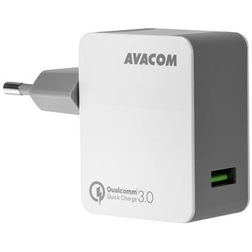 AVACOM HomeMAX síťová nabíječka QC3.0, bílá (NASN-QC1X-WW)