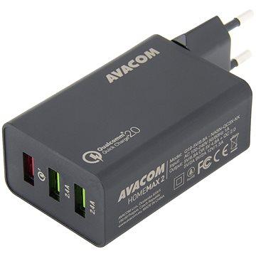 AVACOM HomeMAX 2 s Qualcomm Quick Charge 2.0 černá (NASN-QC3X-KK)
