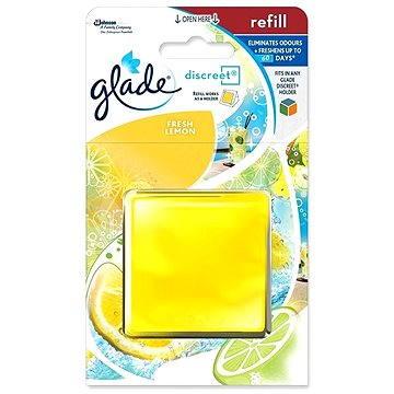 Osvěžovač vzduchu GLADE Discreet Fresh Lemon náplň 8 g (5000204867763)