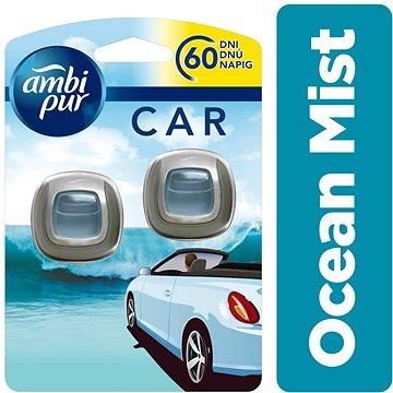 Osvěžovač vzduchu AMBI PUR Car Ocean Mist 2x2ml (4084500996809)