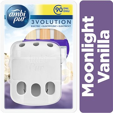 AMBI PUR 3vol strojek + náplň Moonlight Vanilla 20 ml (4015600570545)
