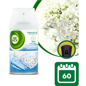 Osvěžovač vzduchu AIRWICK Freshmatic náplň Vůně svěžího prádla 250 ml (4002448054634)