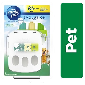 AMBI PUR 3vol Pet Starter kit 20 ml (8001090842213)