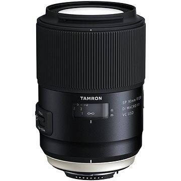 TAMRON AF SP 90mm F/2.8 Di Macro 1:1 VC USD pro Nikon (F017N) + ZDARMA Štětec na optiku Hama Lenspen