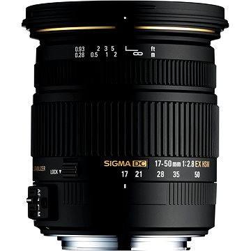 SIGMA 17-50mm F2.8 EX DC HSM Pentax (SI 58C961) + ZDARMA Štětec na optiku Hama Lenspen
