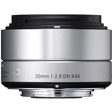 SIGMA 30mm F2.8 DN ART stříbrný OLYMPUS (12110700) + ZDARMA Štětec na optiku Hama Lenspen