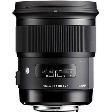 SIGMA 50mm F1.4 DG HSM ART Sigma (12116000) + ZDARMA Štětec na optiku Hama Lenspen