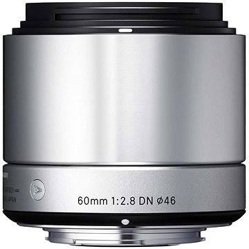 SIGMA 60mm F2.8 DN ART stříbrný SONY (12111400) + ZDARMA Štětec na optiku Hama Lenspen