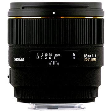 SIGMA 85mm F1.4 EX DG HSM Pentax (SI 320) + ZDARMA Štětec na optiku Hama Lenspen
