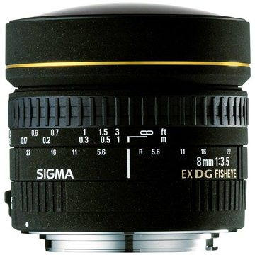 SIGMA 8mm F3,5 EX DG FISHEYE CIRCULAR pro Canon (SI 485279) + ZDARMA Štětec na optiku Hama Lenspen