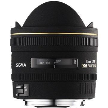 SIGMA 10mm F2.8 EX DC FISHEYE HSM pro Canon (SI 477954) + ZDARMA Štětec na optiku Hama Lenspen