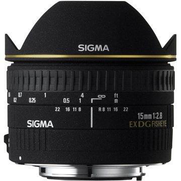 SIGMA 15mm F2.8 EX DG FISHEYE pro Canon (SI 476927)
