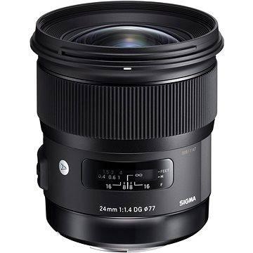 SIGMA 24mm F1.4 DG HSM ART pro Nikon (12120300) + ZDARMA Štětec na optiku Hama Lenspen