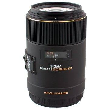 SIGMA 105mm F2.8 MAKRO EX DG OS HSM pro Canon (SI 258954)