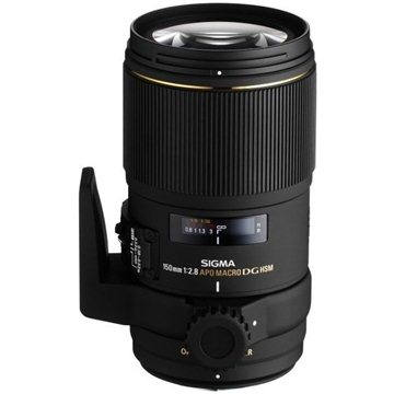 SIGMA 150mm F2.8 APO MACRO EX DG OS HSM pro Canon (SI 106954) + ZDARMA Štětec na optiku Hama Lenspen