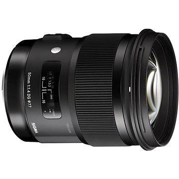 SIGMA 50mm f/1.4 DG HSM ART pro Canon (14116100) + ZDARMA Dokovací stanice SIGMA USB Dock pro CANON Štětec na optiku Hama Lenspen