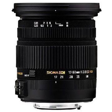 SIGMA 17-50mm F2.8 EX DC OS HSM pro Canon (SI 583954) + ZDARMA Štětec na optiku Hama Lenspen
