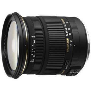 SIGMA 17-50mm F2.8 EX DC OS HSM pro Nikon (SI 583955) + ZDARMA Štětec na optiku Hama Lenspen
