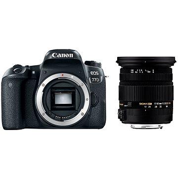 Canon EOS 77D + Sigma 17-50mm + ZDARMA Film k online zhlédnutí Škola focení s Ondřejem Prosickým