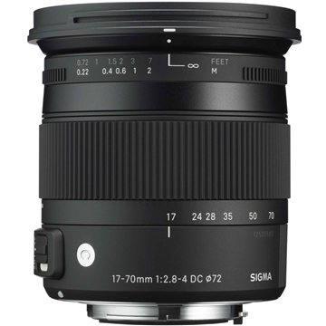SIGMA 17-70mm F2.8-4 DC MACRO OS HSM pro Nikon (řada Contemporary) (12108300) + ZDARMA Štětec na optiku Hama Lenspen