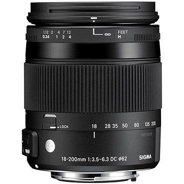 SIGMA 18-200mm f/3.5-6.3 DC MACRO OS HSM pro Canon (řada Contemporary) (SI 885954) + ZDARMA UV filtr Polaroid MC UV 62mm