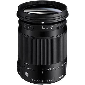 SIGMA 18-300mm F3.5-6.3 DC MACRO OS HSM pro Canon (řada Contemporary) (SI 886954) + ZDARMA Štětec na optiku Hama Lenspen