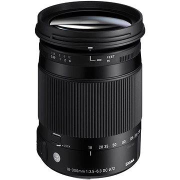 SIGMA 18-300mm f/3.5-6.3 DC MACRO OS HSM pro Nikon (řada Contemporary) (SI 886955)