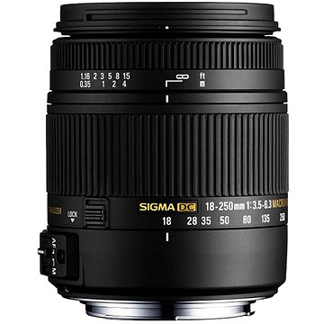 SIGMA 18-250mm f/3.5-6.3 DC Macro OS HSM pro Canon (SI 883954)